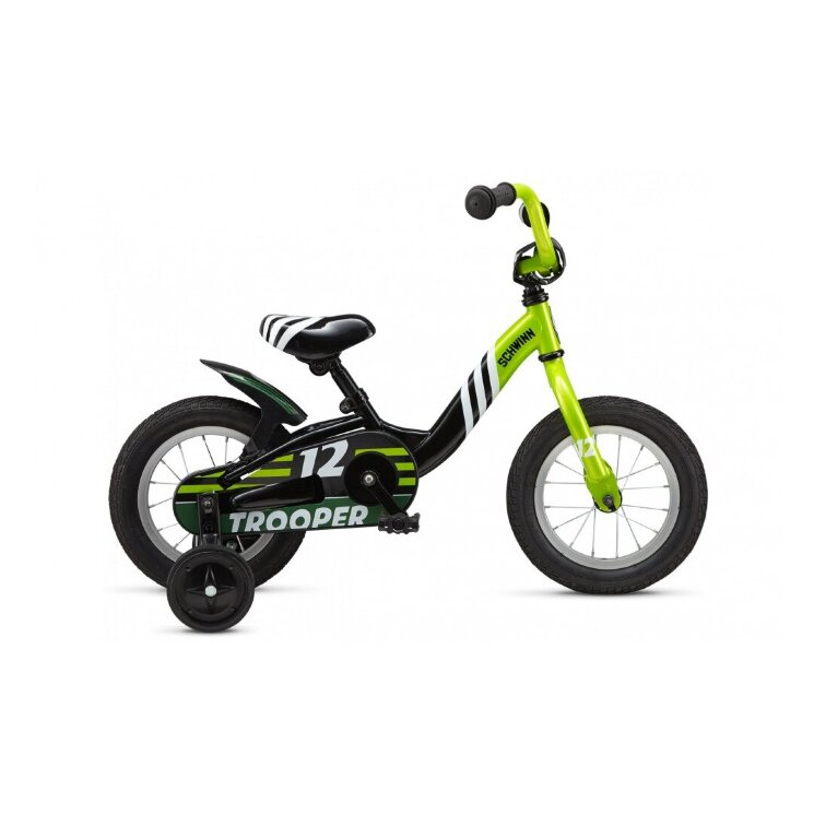 Велосипед Schwinn Trooper boys lime 12""