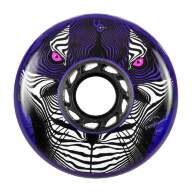 Колеса Powerslide Tiger (Full Radius) 80Mm/84A, Violett 4-Pack 2016